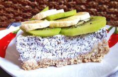 Recept na makový Cheesecake | Pro ŽENY a HUBNUTÍ | od fitness Danči | Česko Krispie Treats, Rice Krispies, Cheesecake, Avocado Toast, Sweet Treats, Sandwiches, Gluten Free, Cookies, Desserts