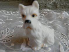 Vintage dog figurine hound dog / dog lover by Pickerchicks on Etsy, $20.00