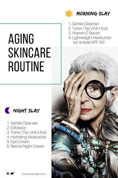 b5579b455f6 Gracefully Aging Skincare Routine Basics. Best Anti Aging CreamsAnti ...