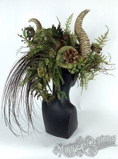 Mother Nature Headdress by MissGDesignsShop on Etsy