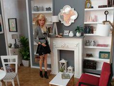 """Gefällt 412 Mal, 8 Kommentare - Vistiendo Sueños (@wearing.dreams.dolls) auf Instagram: """"silla de jardín.. . . FURNITURE 1:6 www.etsy.com/shop/wearingdreams #blythe #pullip #barbie…"""""""