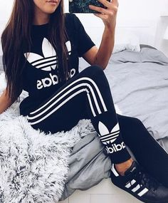 Adidas Outfit Pictures pin von jenny techel auf need adidas klamotten outfit und Adidas Outfit. Here is Adidas Outfit Pictures for you. Adidas Outfit adidas outfit ideas just trendy girls. Sport Outfits, Winter Outfits, Summer Outfits, Casual Outfits, Nike Outfits, Cute Addidas Outfits, Vest Outfits, Girly Outfits, Teen Fashion