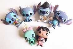 Lilo and stitch Funko Pop Dolls, Funko Pop Figures, Pop Vinyl Figures, Best Funko Pop, Funko Pop Display, Lilo Et Stitch, Pop Figurine, Funk Pop, Disney Pop