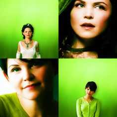 "Snow White/Mary Margaret - I think that Mary Margaret is what Snow White would have become if she had grown up without Regina in her life. I love how the show has made both of the personalities fit the character so well - you can see how little Snow in ""The Stable Boy"" could have grown into either of these two women."