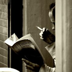 """""""Books are the quietest and most constant of friends; they are the most accessible and wisest of counselors, and the most patient of teachers.""""  ~Charles William Eliot from The Happy Life  photo by Stefano Corso"""