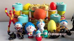 PLAY DOH SURPRISE EGGS with Surprise Toys,playdough videos for children,...