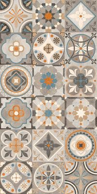 Decorating your floor with ceramics can add a much-needed pop of color to your home. Ceramic tiles and quite affordable and give your home an elegant and unique touch without drowning out other are… Floor Patterns, Tile Patterns, Textures Patterns, Azulejos Diy, Tile Design, Pattern Design, Pattern Art, Tiles Texture, Kitchen Tiles
