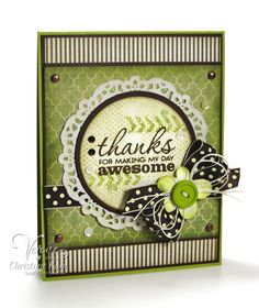 Thanks by Christyne Kane using Verve's Better Together stamp set.