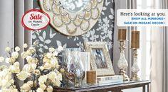 Mirrors & Wall Décor: Clocks, Wall Art & Decorations| Pier 1 Imports