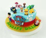 Paw Patrol Birthday Cake, Paw Patrol Cake, Birthday Cakes, 4th Birthday, Galaxy Chocolate, Swiss Chocolate, 1 Tier Cake, Tiered Cakes, Paw Patrol Characters