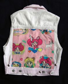 Sailor moon punk vest