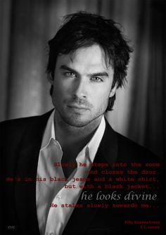 Ian Somerhalder as Christian Grey #FiftyShadesFreed by E L James