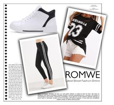 """ROMWE #5"" by begicdamir ❤ liked on Polyvore featuring Whiteley"