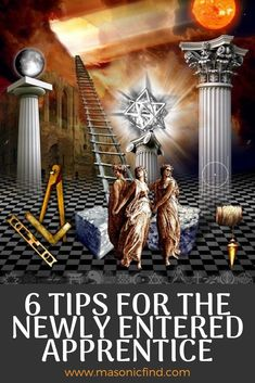 Just joined the Masonic brotherhood? See our top 6 tips for the newly Entered Apprentice in Freemasonry. Blue Lodge Masonic Rings, Masonic Symbols, Freemasonry, New World Order, 16th Century, Foreseeable Future, Old Things, Masons, Historia