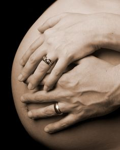Fine art maternity photography …like this with a shirt on ha