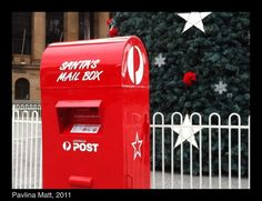December 10th, 2011.  I love that Australia Post is complicit in the great Santa conspiracy.