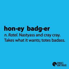 Honey Badger Definition