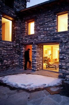 Gallery - Restructuration of a Farm in the French Alps / Pierre-Doucerain - 2