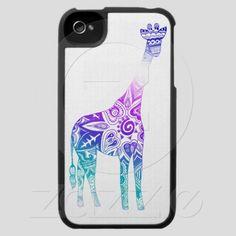 Aurora Giraffe iPhone & iPod case