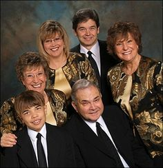 The McKameys at Silver Dollar City during Southern Gospel Picnic