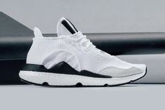 new concept ed8e7 029c6 A Closer Look at the adidas Y-3 Saikou BOOST in White