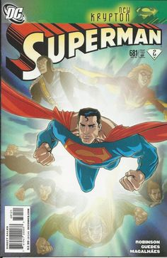 DC Superman comic issue 681 Limited variant