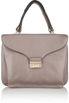 Valentino Textured-leather shoulder bag | THE OUTNET