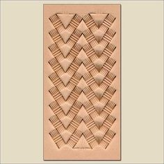 Arrow Basketweave How-To from Tony's Bench Leather Stamps, Leather Art, Custom Leather, Leather Tooling, Leather Belts, Sewing Leather, Handmade Leather, Leather Jewelry, Leather Working Patterns