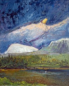 The Fisherman Gros Morne, 24x19.5