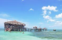 Pelican Bar, South Coast Jamaica.  October 2015