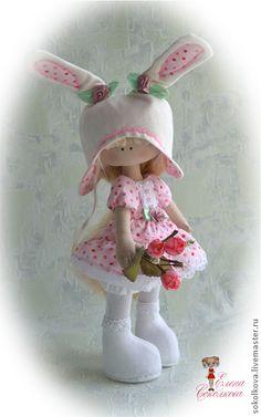 Homens feitos à mão.  Feira dos Mestres - . Meu coelho) boneca artesanal interior  Handmade.