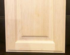Raised Panel Style Door   Unfinished Paint Grade Cabinet Doors