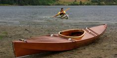 skin on frame canoe - Google Search