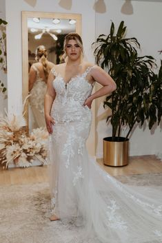 Available Colors: Ivory/Nude/Nude (pictured) Ivory/Ivory/Nude Ivory/Sand/Nude Bridal Collection, Fashion Forward, Bloom, Ivory, Nude, Wedding Dresses, Colors, Design, In Trend