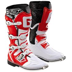Gaerne G React Boots - White Red