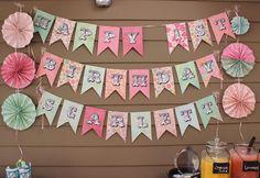 simple diy birthday banner tutorial diy ideas pinterest diy