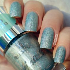 Essence 'The Holo' Under the Sea ~ from the Aquatix Polish Collection ~ Swatch & Review by rainysunraynails