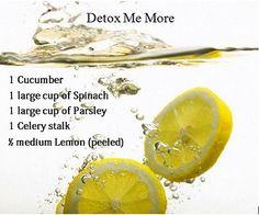 Detox Me More | Flickr - Photo Sharing!