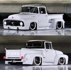 old ford trucks Old Ford Trucks, Old Pickup Trucks, Diesel Trucks, Lowered Trucks, Lifted Trucks, Lifted Ford, 1957 Chevrolet, Cool Trucks, Big Trucks