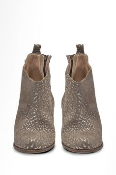 SOUND RUPES › SHOES › HUMANOID WEBSHOP gray ankle boots