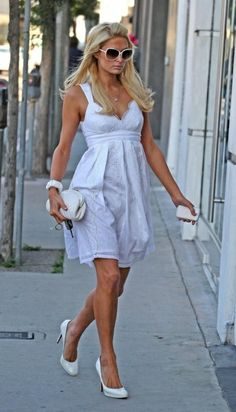Christian Louboutin White Pumps  Chanel Lambskin purse