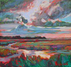 Bohickett Creek, Seabrook, South Carolina. Painting by Betty Anglin Smith, Anglin Smith Fine Art (http://anglinsmith.com/)