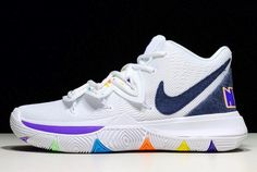 """8922a2b4a8fa 2019 Nike Kyrie 5 """"Have A Nike Day"""" AO2919-101 For Sale"""
