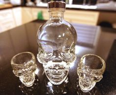 Crystal Head Vodka! Would very much like a bottle of this! :D