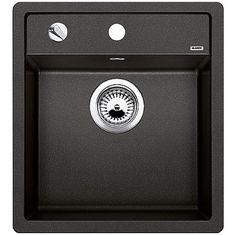 Blanco Dalago 45 1.0 Bowl Anthracite Black Silgranit Granite Kitchen Sink - Blanco from TAPS UK