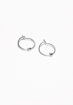 & Other Stories   Small Hoop Earrings
