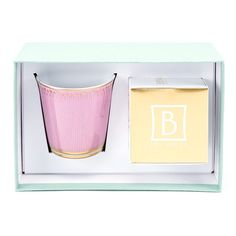 """Gift box """"Soleil Levant"""" tumbler + Sacred Lys scented candle"""