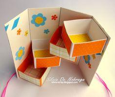 Silvia Scrap: Casita - Pajarito Secret-Box