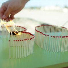birthday candle idea