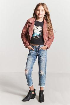 Jeans Cortos Con Rotos #KidsFashionTeen